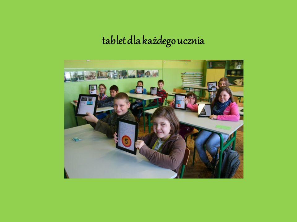 tablet dla każdego ucznia