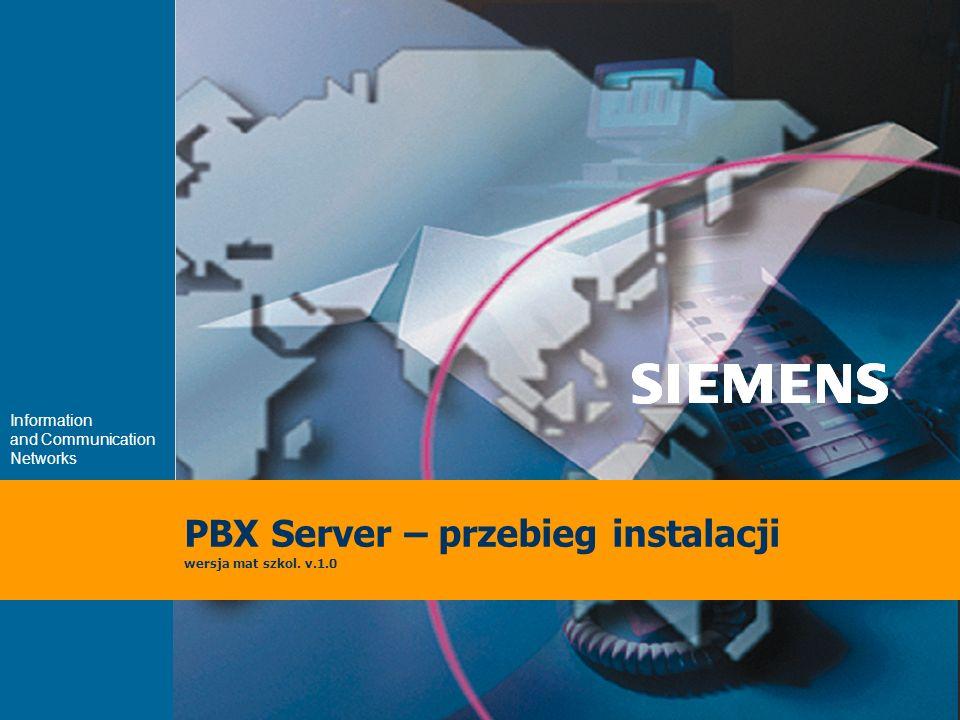 9,825,461,087,64 10,91 6,00 0,00 8,00 Information and Communication Networks PBX Server – przebieg instalacji wersja mat szkol.