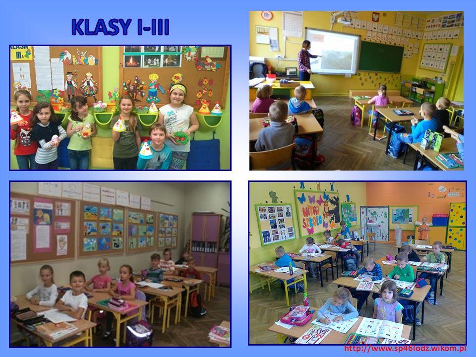 Dobrze wyposażone pracownie w sprzęt multimedialny i pomoce dydaktyczne http://www.sp46lodz.wikom.pl