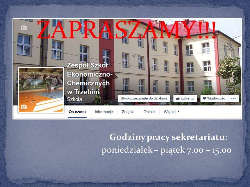 Zespół Szkół Ekonomiczno- Chemicznych 32-540 Trzebinia, ul.