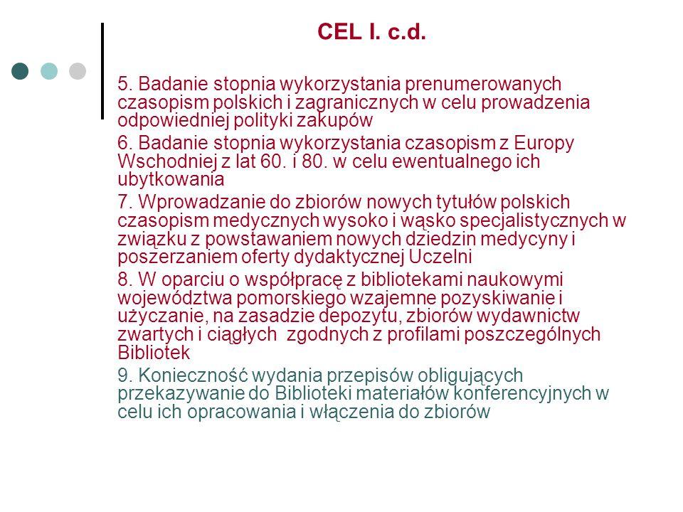 CEL I. c.d. 5.