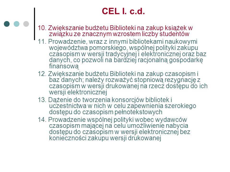 CEL I. c.d. 10.