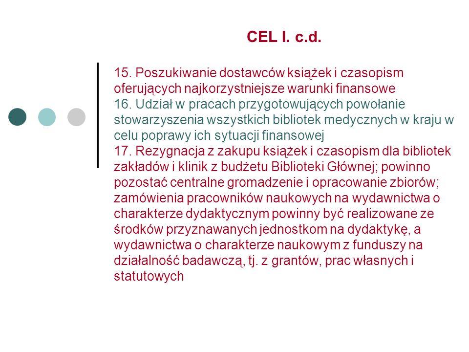 CEL I. c.d. 15.