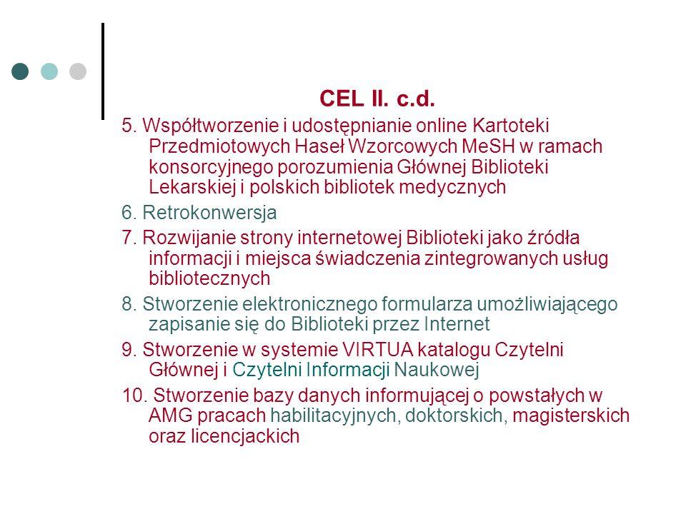 CEL II. c.d. 5.
