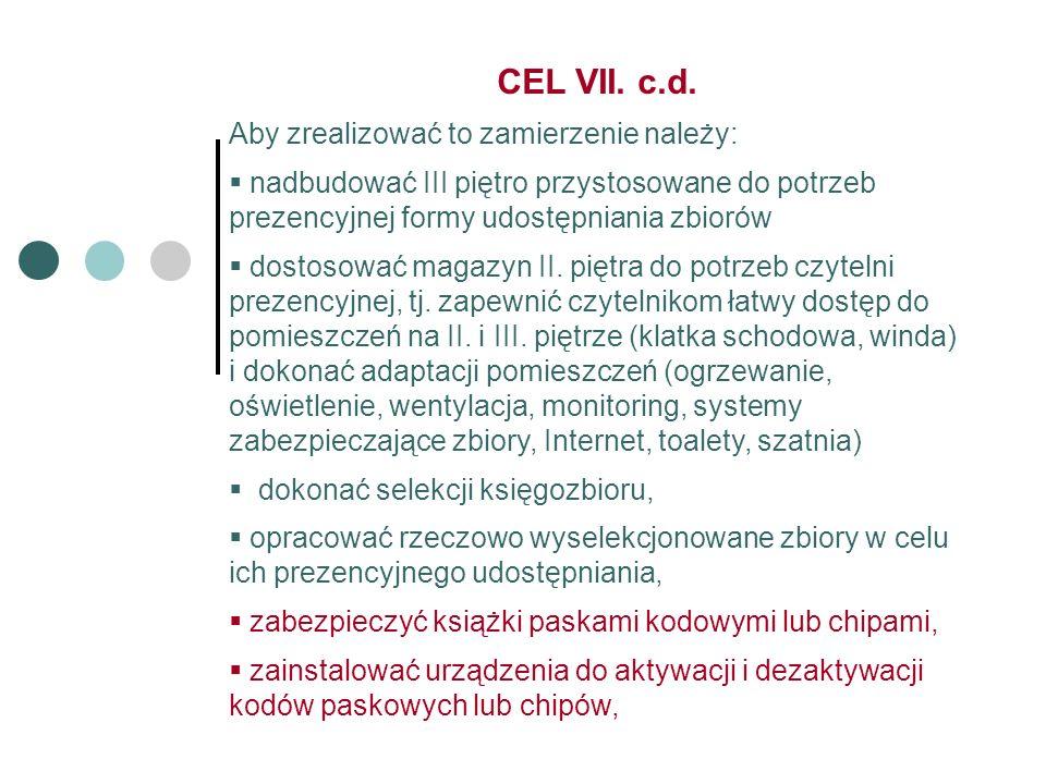 CEL VII. c.d.