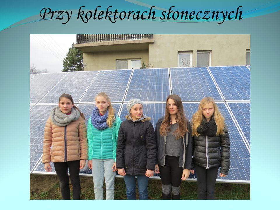Przy kolektorach słonecznych