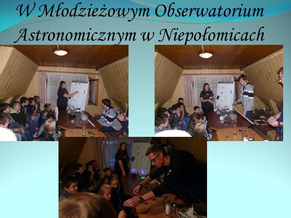 W Młodzieżowym Obserwatorium Astronomicznym w Niepołomicach