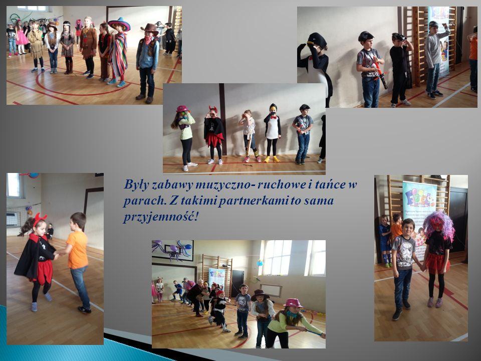 Były zabawy muzyczno- ruchowe i tańce w parach. Z takimi partnerkami to sama przyjemność!