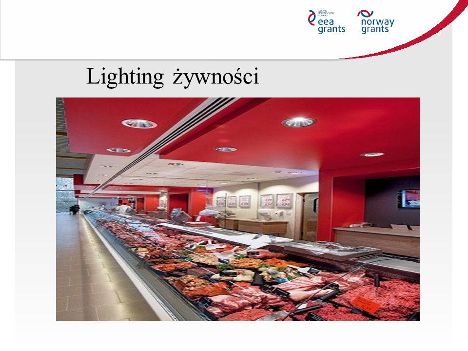 Lighting żywności