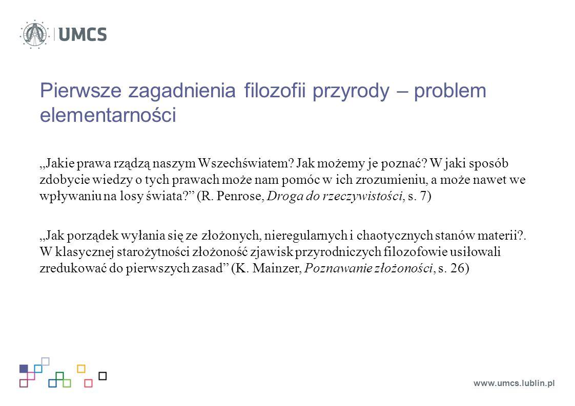 """Paradoksy Zenona z Elei: Achilles i żółw """"w wyścigu najszybszy biegacz nie może nigdy prześcignąć najpowolniejszego, bo ścigający musi najpierw osiągnąć punkt, z którego ścigany już wyruszył, tak że powolniejszy ma zawsze pewne wyprzedzenie (Arystoteles, Fizyka, VI, 239 b) www.umcs.lublin.pl"""