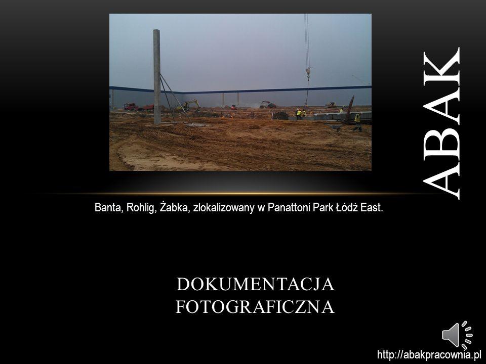 DOKUMENTACJA FOTOGRAFICZNA ABAK Media Expert, zlokalizowany w Panattoni Park Łódź East.