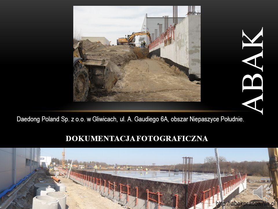 WYBRANE REALIZACJE 2013: ABAK Budynek zakładu produkcyjnego Daedong Poland Sp.