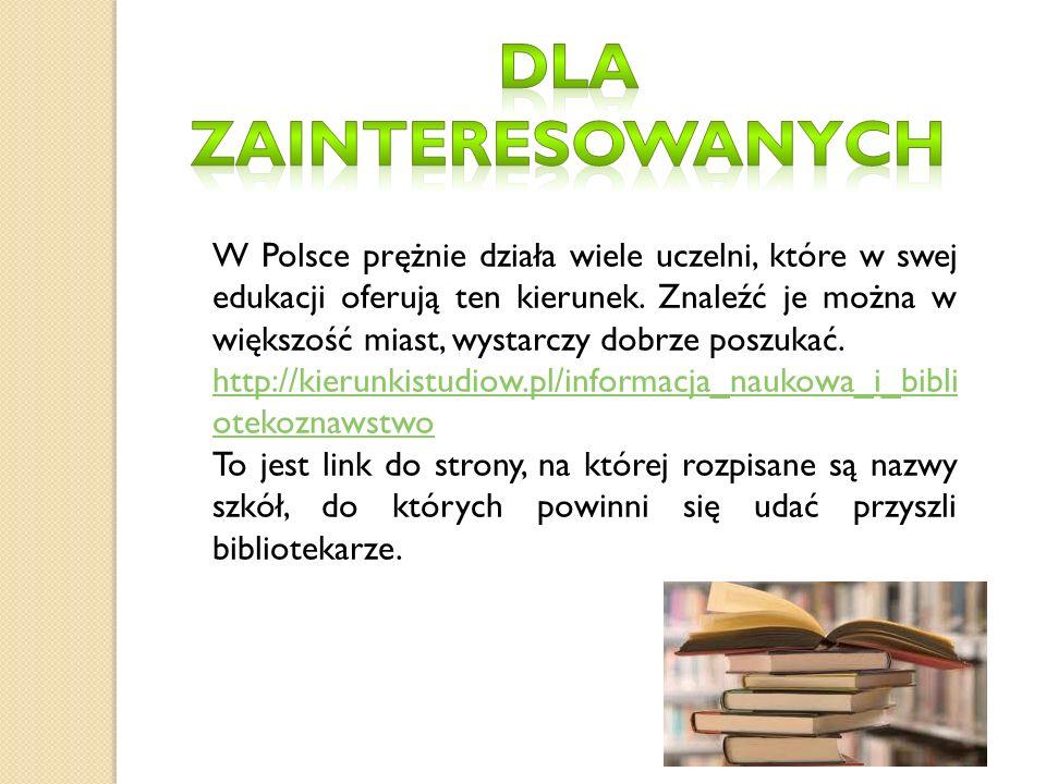 W Polsce prężnie działa wiele uczelni, które w swej edukacji oferują ten kierunek.