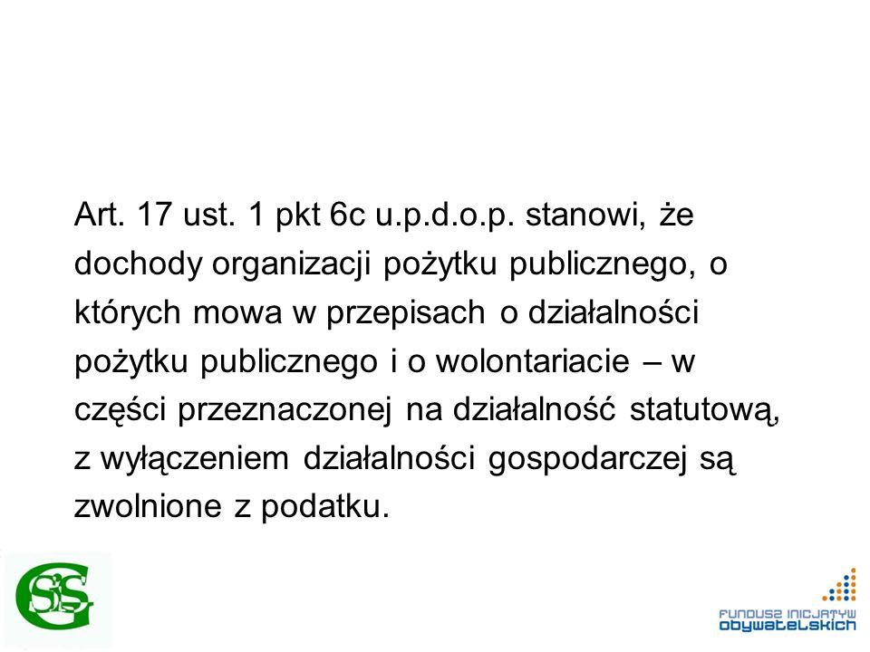Art.17 ust. 1 pkt 6c u.p.d.o.p.