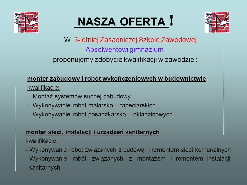 NASZA OFERTA .