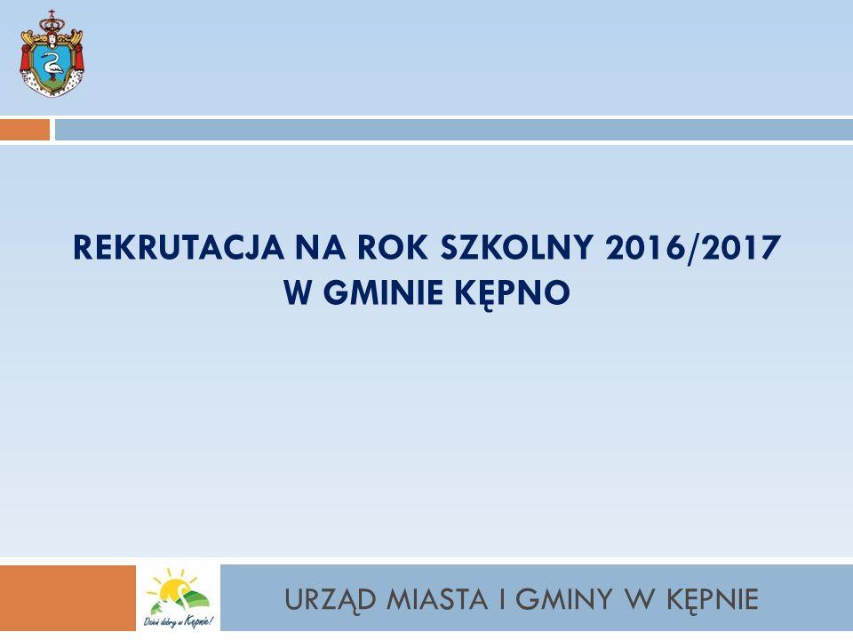 REKRUTACJA ELEKTRONICZNA www.kepno.przedszkola.vnabor.pl