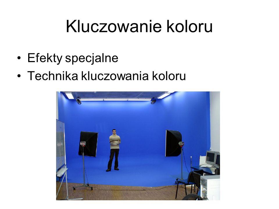 Kluczowanie koloru Efekty specjalne Technika kluczowania koloru