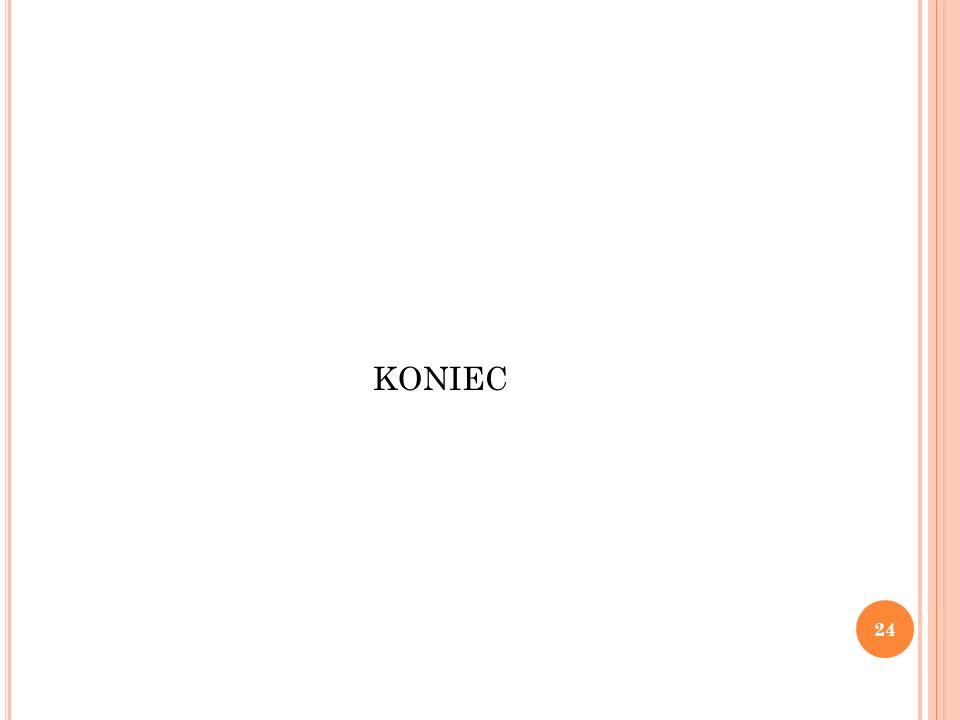 KONIEC 24