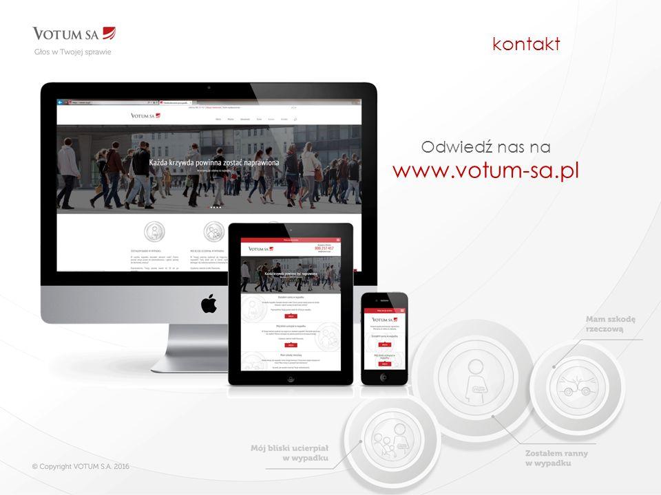 kontakt Odwiedź nas na www.votum-sa.pl