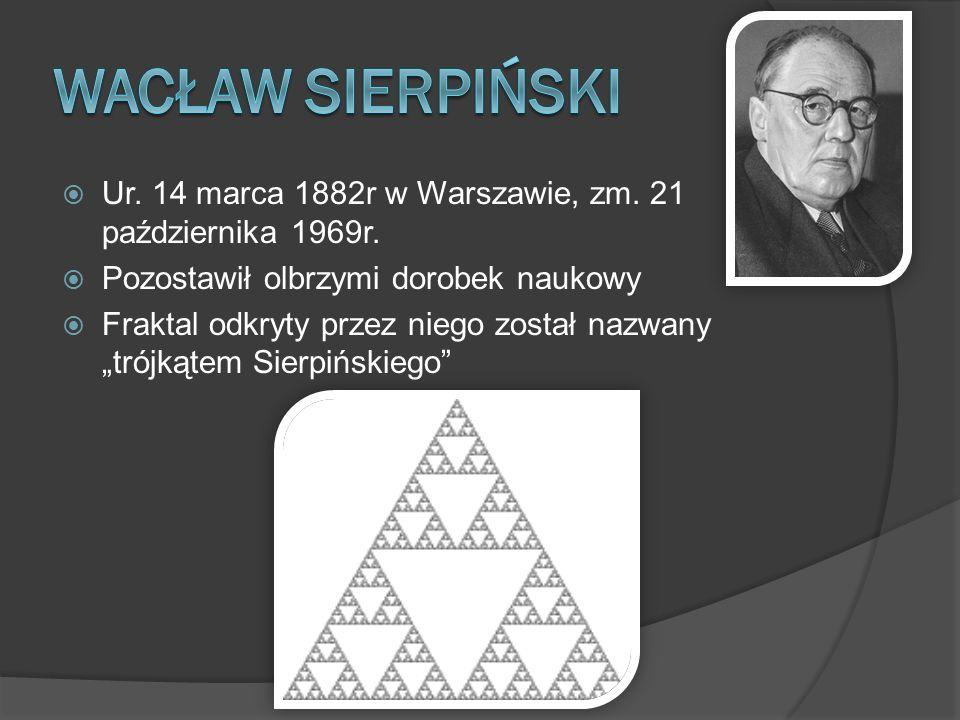  Ur. 14 marca 1882r w Warszawie, zm. 21 października 1969r.