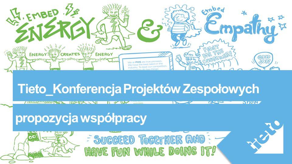 Public Tieto_Konferencja Projektów Zespołowych Bartosz Lanc Values Tieto, PDS bartosz.lanc@tieto.com propozycja współpracy