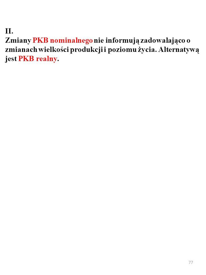 KrajePKBLudnośćPKB per capita Indie Polska Nowa Zelandia 1938 549 201 1295,3 38,5 4,5 1 548 14 159 44 356 PKB, ludność i PKB per capita w Indiach, Nowej Zelandii i Polsce w 2014 r.