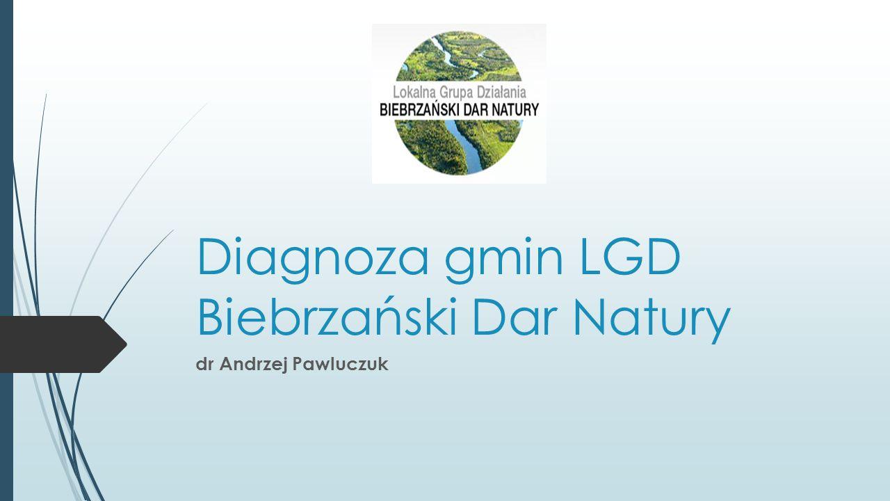 Diagnoza gmin LGD Biebrzański Dar Natury dr Andrzej Pawluczuk