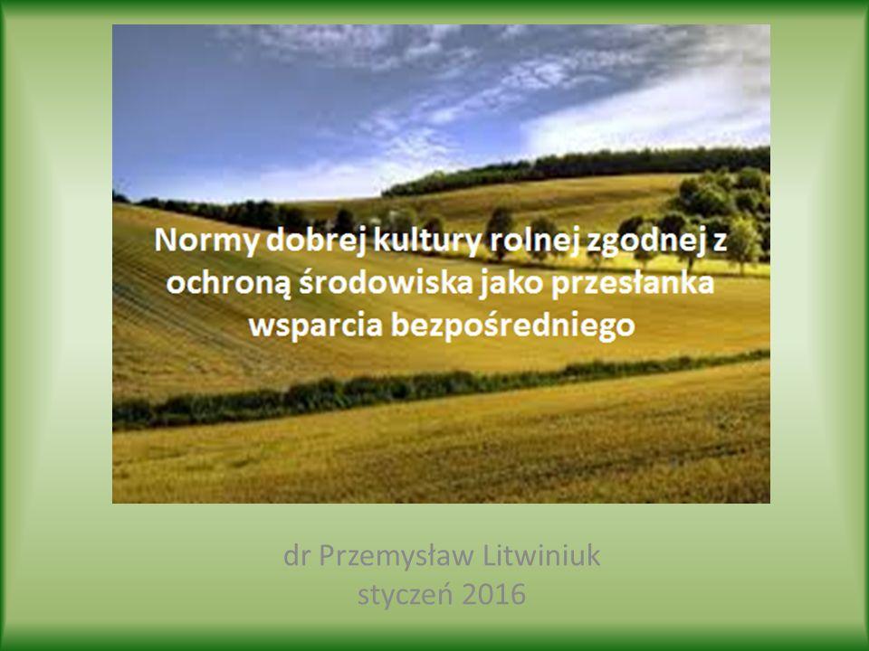 DKR - pojęcie  utrzymania gruntów wchodzących w skład gospodarstwa w Dobrej Kulturze Rolnej zgodnej z ochroną środowiska (Good Agricultural and Enviromental Conditions – GAEC) określonych w załączniku III do rozporządzenia Rady nr 73/2009 oraz w załączniku II do rozporządzenia Parlamentu Europejskiego i Rady nr 1310/2013,  podstawowych wymogów z zakresu zarządzania (Statutory Management Requirements – SMR) określonych w załączniku II do rozporządzenia Parlamentu Europejskiego i Rady (UE) nr 1306/2013.