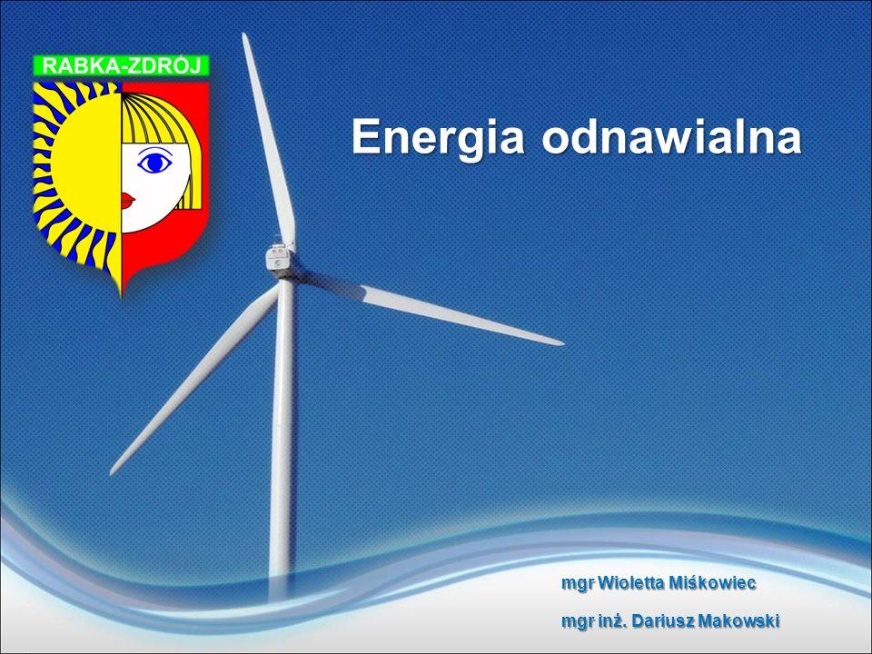 Przykłady uzyskania energii ze źródeł odnawialnych na terenie Rabki-Zdrój Ogniwa fotowoltaniczne zasilające budynek prywatny