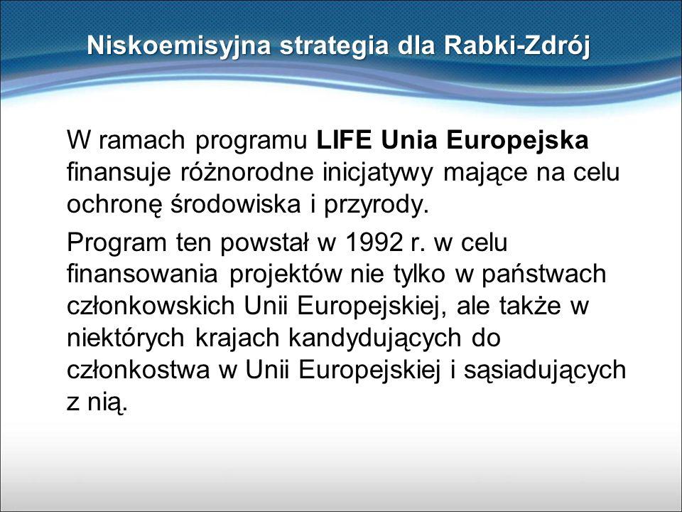 W ramach programu LIFE Unia Europejska finansuje różnorodne inicjatywy mające na celu ochronę środowiska i przyrody. Program ten powstał w 1992 r. w c
