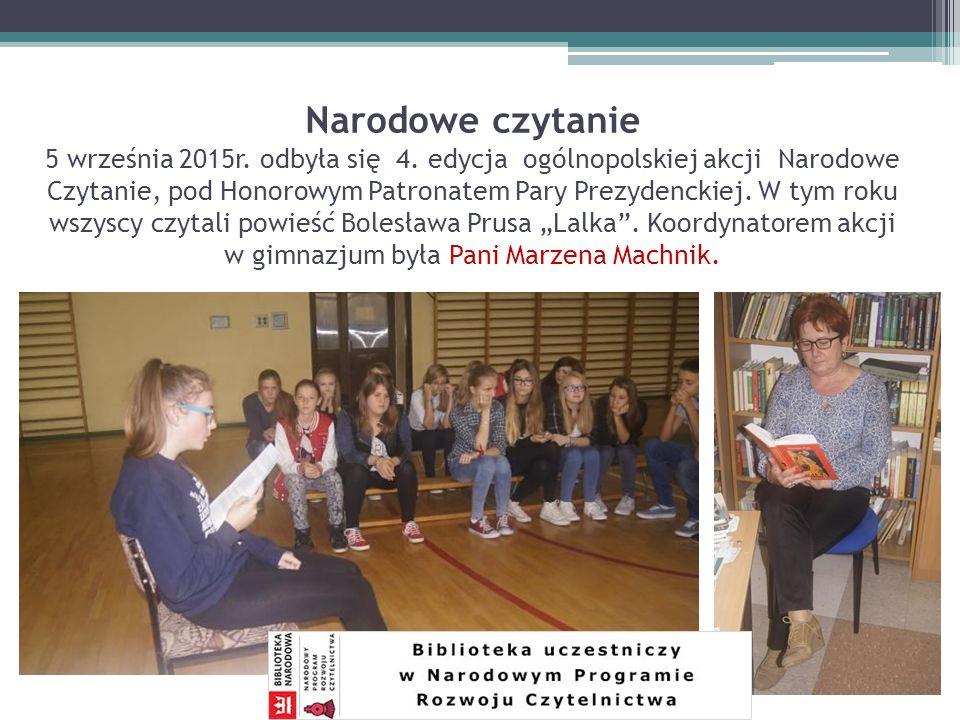 Powiatowy konkurs plastyczny 27 listopada 2015r.