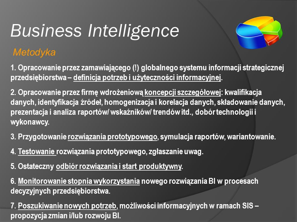 Business Intelligence 1.