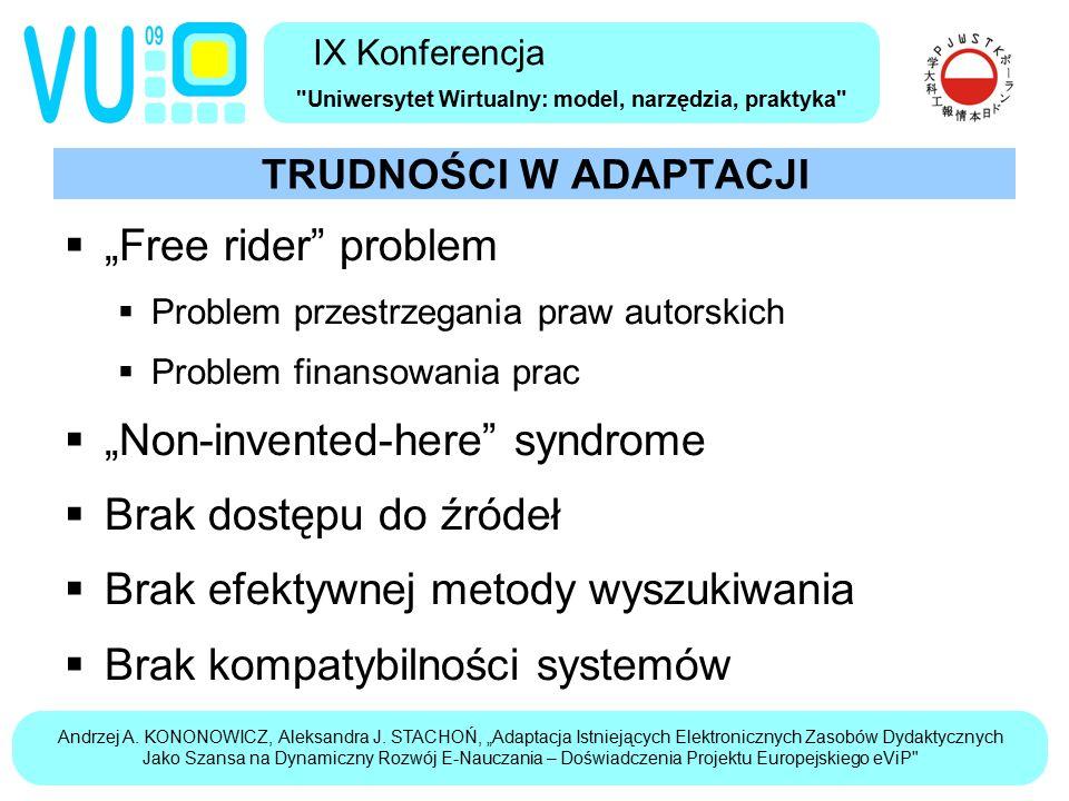 Andrzej A. KONONOWICZ, Aleksandra J.