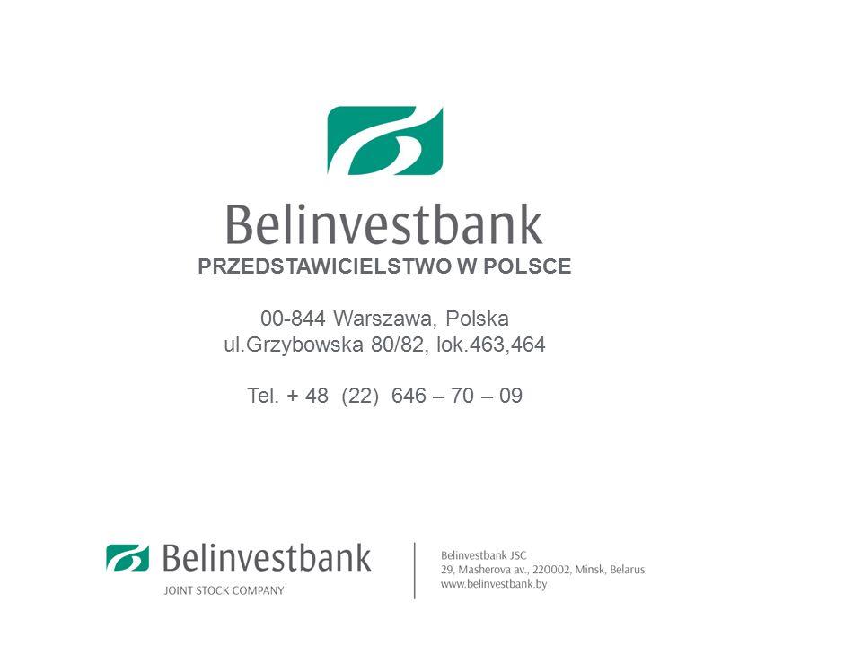 11 PRZEDSTAWICIELSTWO W POLSCE 00-844 Warszawa, Polska ul.Grzybowska 80/82, lok.463,464 Tel.