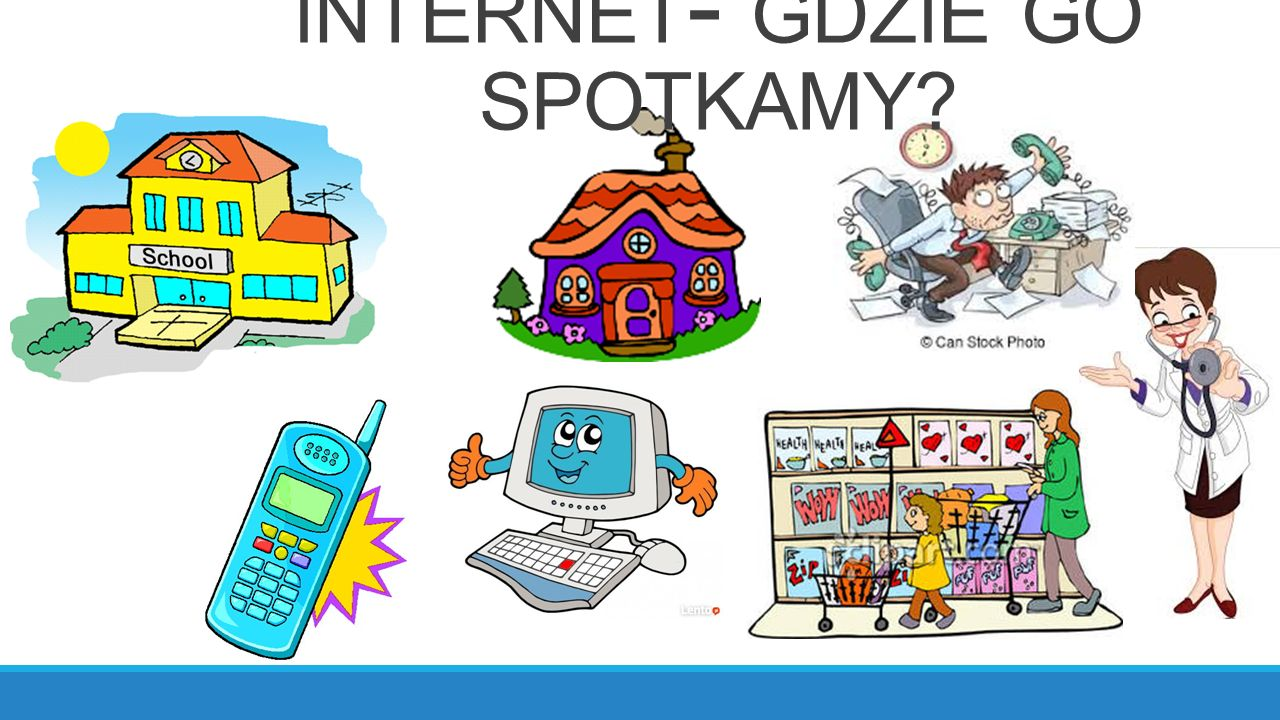 INTERNET - GDZIE GO SPOTKAMY