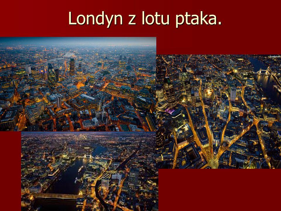 Londyn z lotu ptaka.