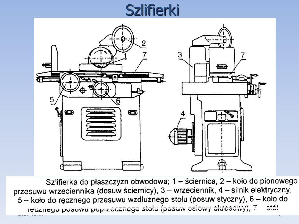 9Szlifierki Szlifierka do płaszczyzn KGS 1020 D produkcji firmy Kent; wym.