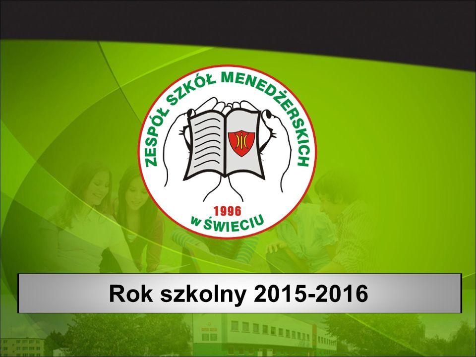 Rok szkolny 2015-2016