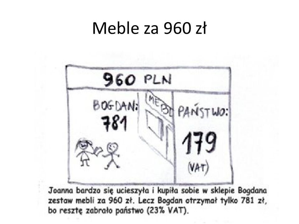 Meble za 960 zł