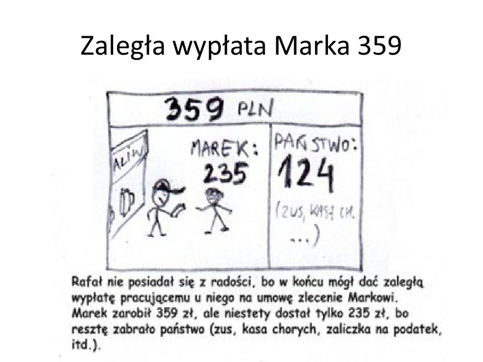 Zaległa wypłata Marka 359