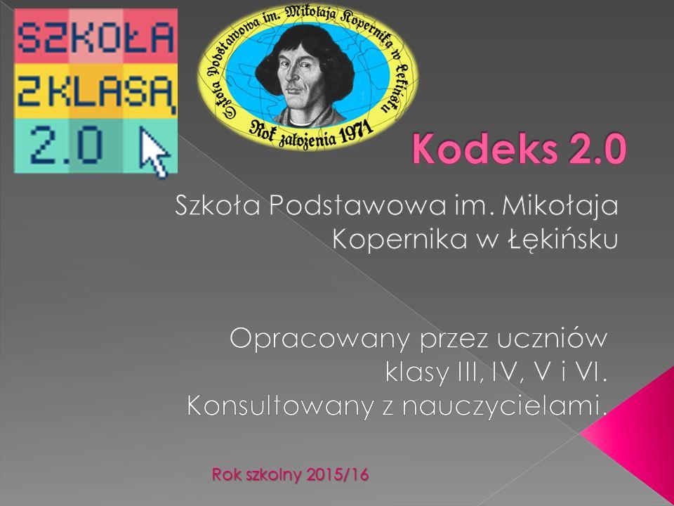 Rok szkolny 2015/16