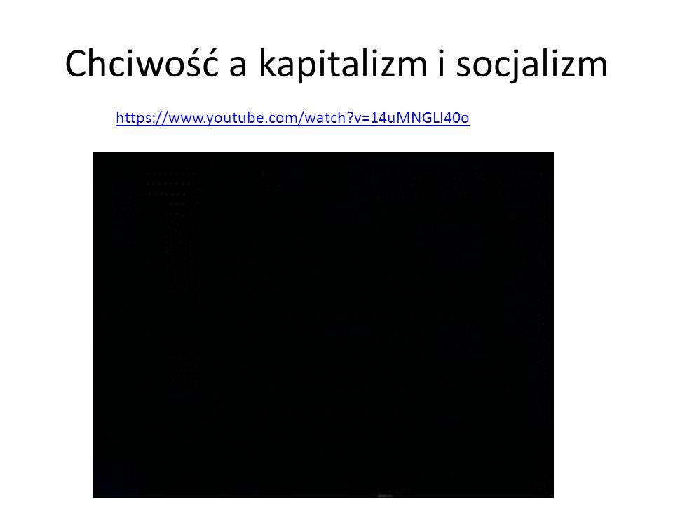 Chciwość a kapitalizm i socjalizm https://www.youtube.com/watch?v=14uMNGLI40o