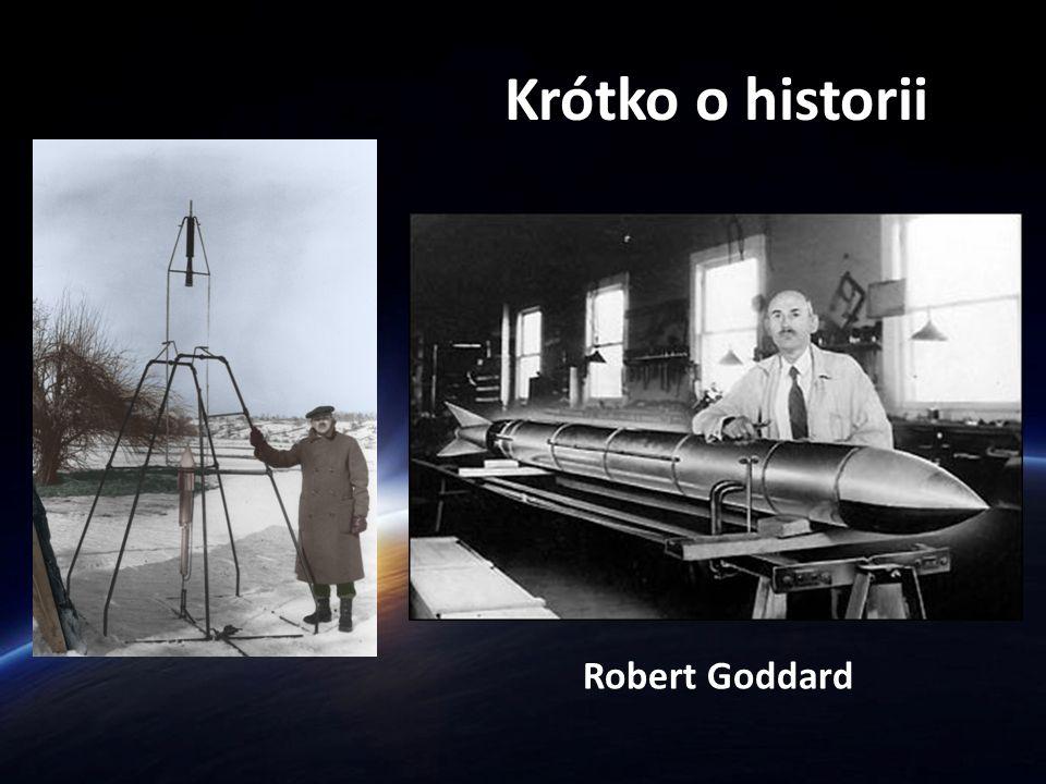 Krótko o historii Robert Goddard