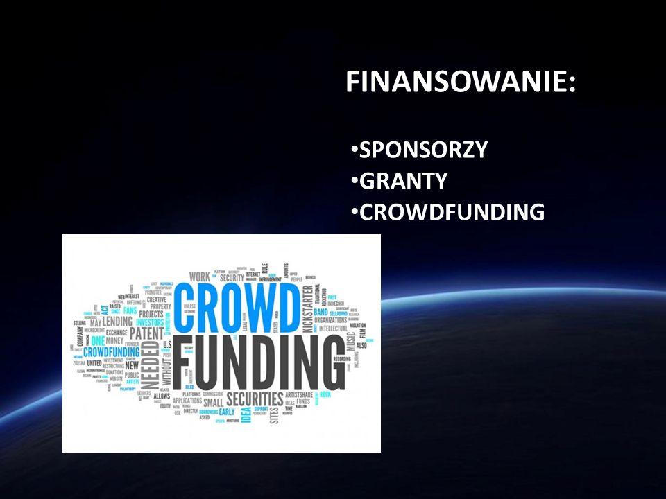 FINANSOWANIE: SPONSORZY GRANTY CROWDFUNDING