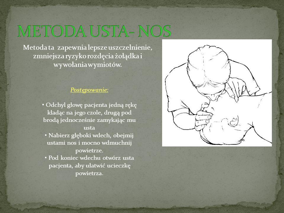 Regurgitacje i w następstwie aspiracja treści żołądkowej do dróg oddechowych, która spowodowana jest: - niedostateczną drożnością górnych dróg oddechowych, - zbyt szybkim przekazywaniem powietrza, - za szybkim przekazywaniem powietrza - mechanicznym uszkodzeniem płuc (ludzie starzy, małe dzieci)