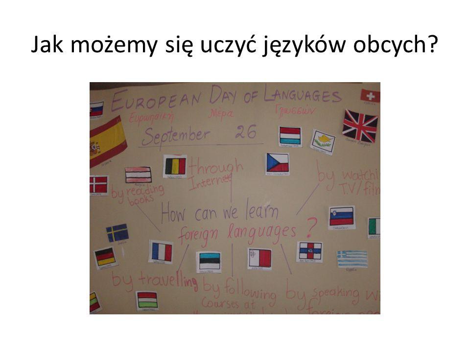 Dlaczego uczymy się języków obcych?