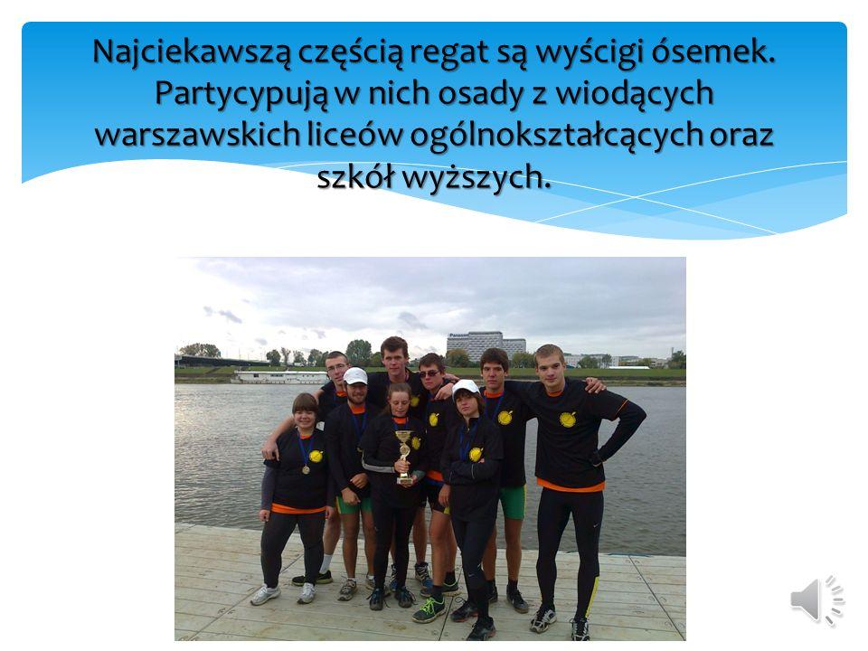 Regaty przyciągają uwagę zarówno mieszkańców Warszawy jak i mediów. Podczas trwania III edycji Pucharu odwiedziły nas 3 telewizje: TVP, TVN i Polsat.