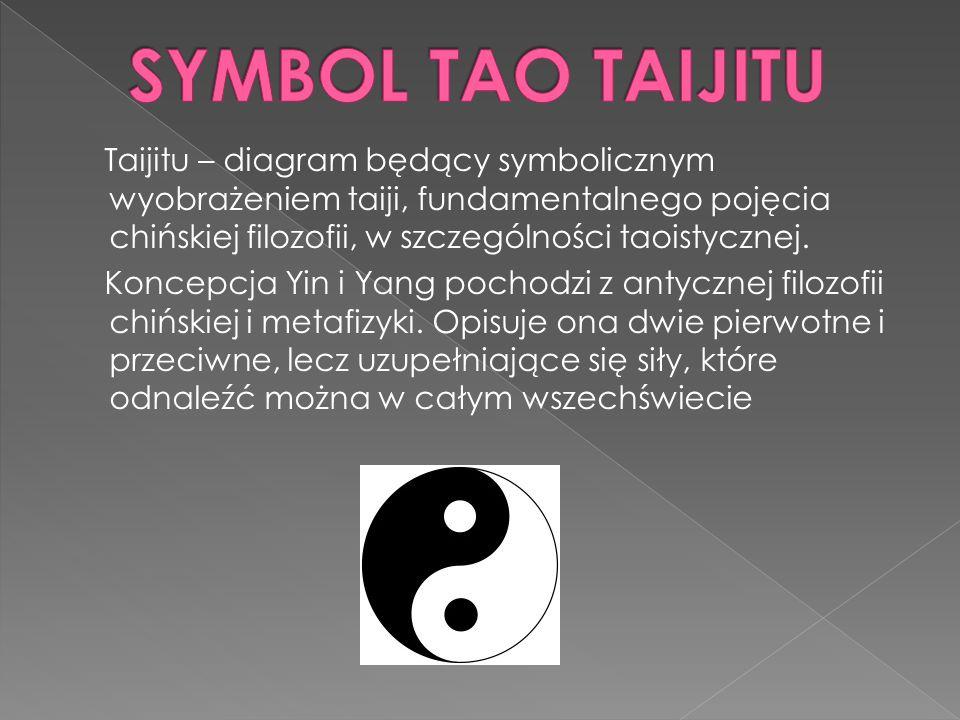 Taijitu – diagram będący symbolicznym wyobrażeniem taiji, fundamentalnego pojęcia chińskiej filozofii, w szczególności taoistycznej. Koncepcja Yin i Y