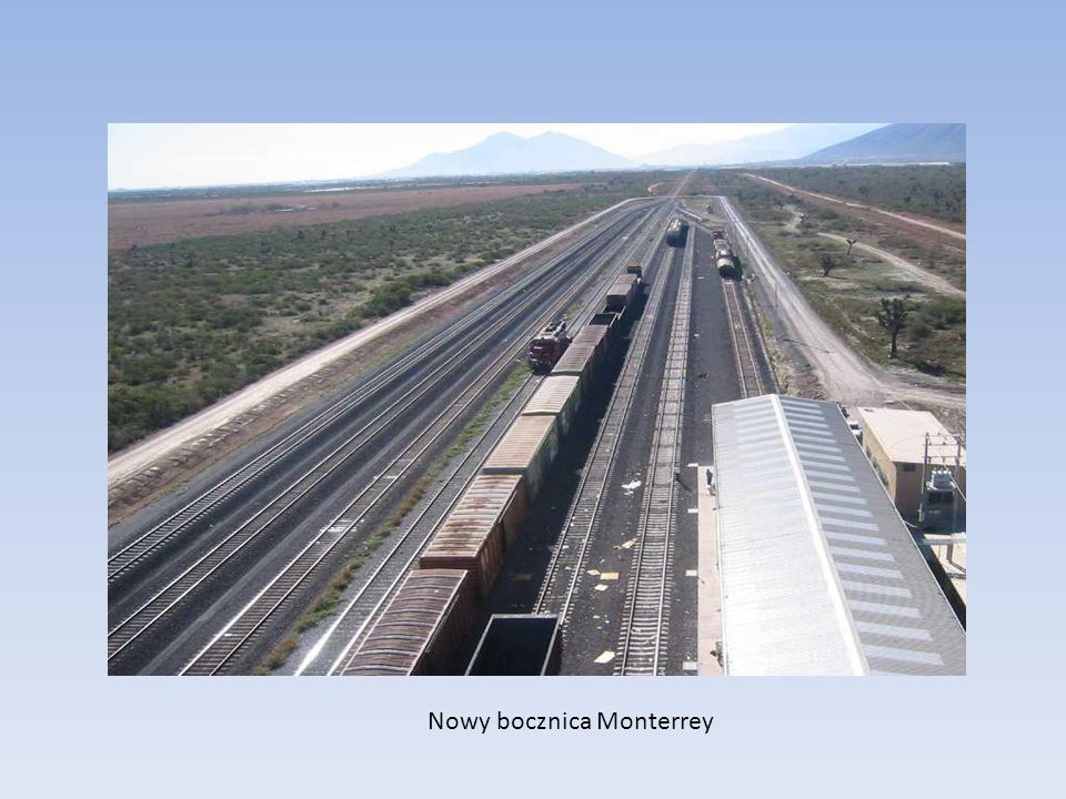 Nowy bocznica Monterrey