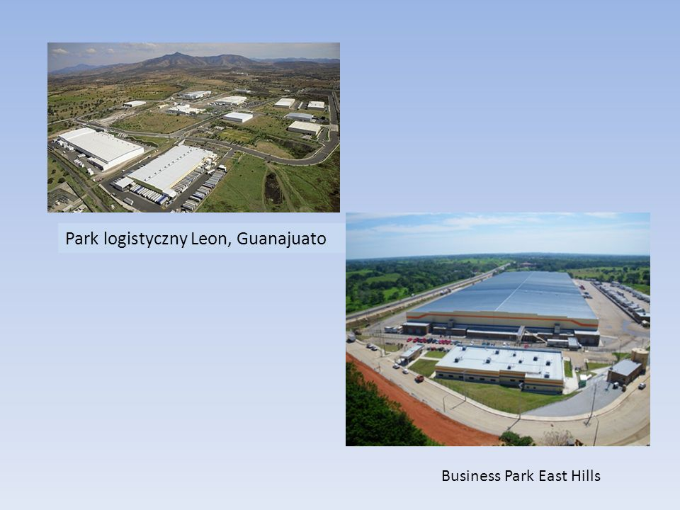 Park logistyczny Leon, Guanajuato Business Park East Hills